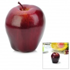 Artificial Red Delicious Apple Simulation Fruit for Tischdekoration - Dark Red