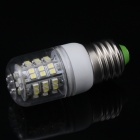 E27 3.5W 280LM 5500-6500K White 48-SMD 3528 LED Light Bulb w/ Water Resistant Cover (220V)
