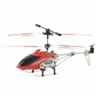Mini Rechargeable 3-CH IR Remote Control R / C Helicopter - Red
