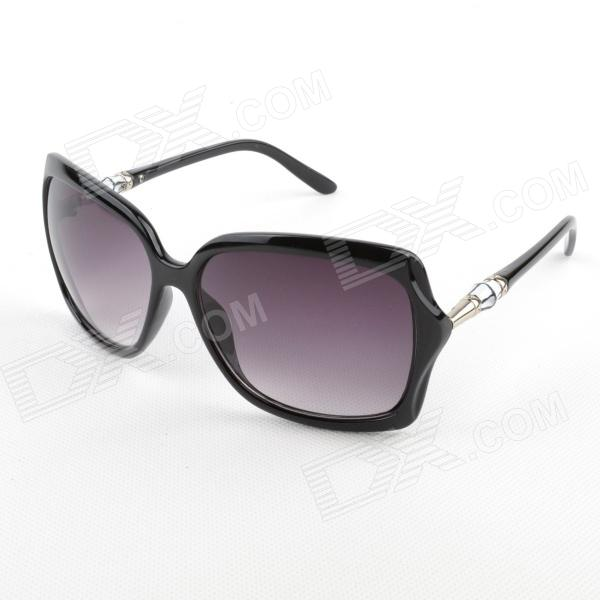 OREKA 3131 Fashion UV400 Protection PC Lens Sunglasses - Black