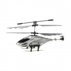 Rechargeable 3.5-CH PVC IR Remote Control R/C Helicopter - Silver