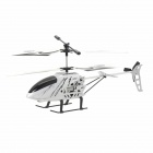 Mini Rechargeable 2.5-CH IR Remote Control R/C Helicopter w/ Gyro - White