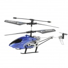 Mini Rechargeable 2,5-CH IR R / C Helicopter - Blue