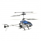 Rechargeable 3.5-CH IR R/C Helicopter w/ 130KP Camera & Gyroscope - Blue (SD Slot)