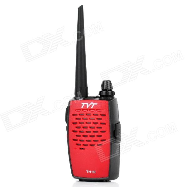 TYT TH-1R 2W ​​400 ~ 480MHz 16-CH Walkie Talkie - красный + черный