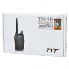 TYT TH-1R 2W ​​400 ~ 480MHz 16-CH Walkie Talkie - Rojo + Negro