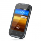 "A109G Android 2.3 GSM Bar Phone w/ 3.5"" Capacitive Screen, Quad-Band, Wi-Fi and Dual-SIM - Black"