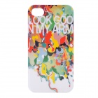 Kamol Colorful Protective Plastic Back Case for iPhone 4 / 4s