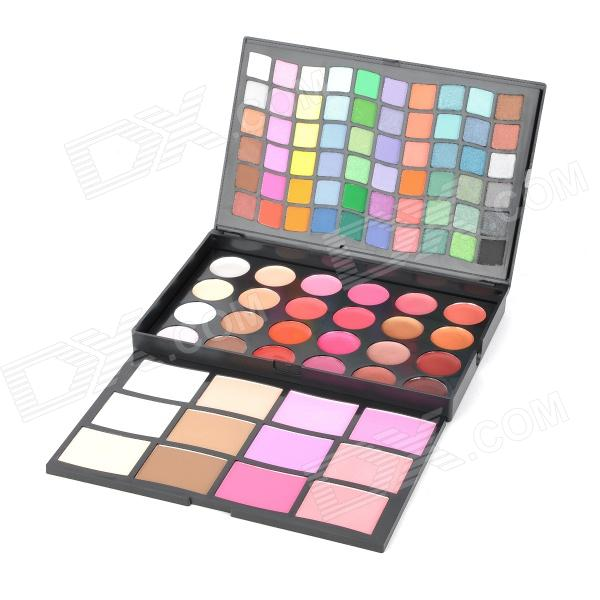 Serseul Cosmetic Makeup 60-Eyeshadow + 6-Blusher + 16-Lipstick + 8-Concealer + 6-Pressed Powder Set