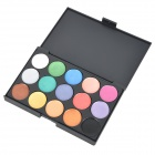 Serseul Portable 15-Color Waterproof Cosmetic Makeup Eyeshadow Palette