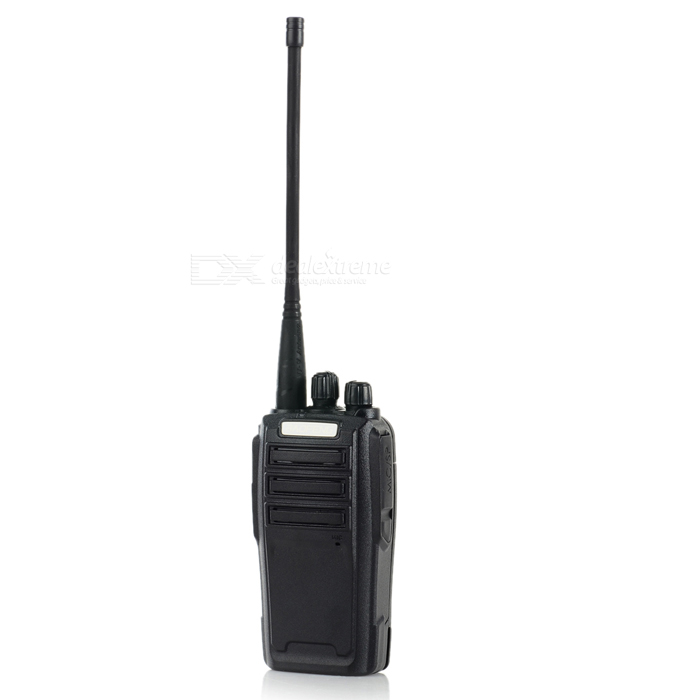 BAOFENG 5W UHF / VHF Dual Band 128-CH Walkie Talkie w/ FM Radio - Black