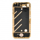 Replacement Mid Board Middle Bezel Chassis Frame w/ Repair Tool Kit for iPhone 4 - Golden