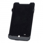 3800mAh Rechargeable External Battery Back Case for Samsung Galaxy Note i9220 - Black