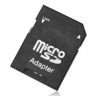 Pålitlig klass 6 Micro SD TF-kort med SD-adapter - Svart (32 GB)