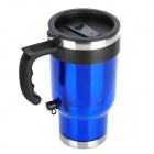 Zigarettenanzünder Powered Electric Water Heater Bottle - Blue (450ml / DC 12V)