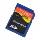 OURSPOP Reliable Class 10 SD Card - Blue (32GB)