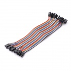 1-Pin DuPont Wire Connector Cables (40 PCS / 20cm)