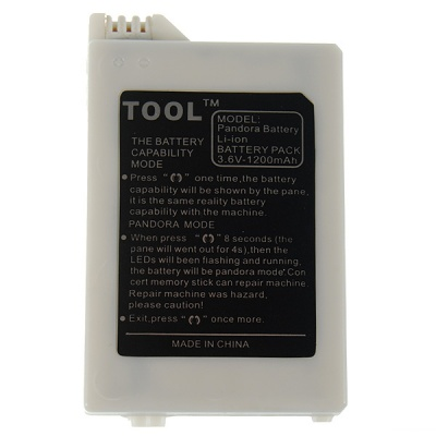 Hybrid 2-in-1 Digitally Activated PSP 2000 Unbricker Service + Normal 1200mAh Battery