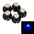 T4.2 0.12W 14lm 2-3014 SMD LED Blue Light Car Instrument Lamp Bulb (5 PCS)