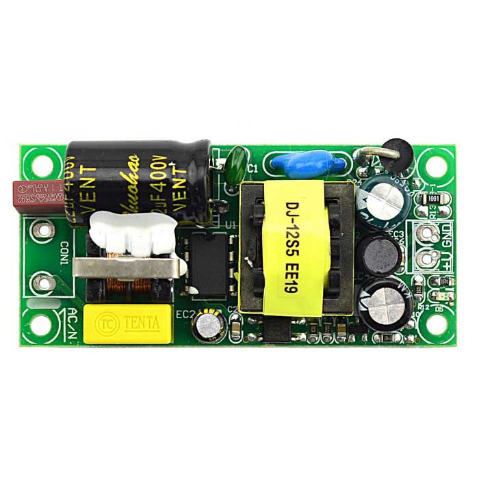 цены Built-in Switching Power Supply Board w/ EMI Filter Circuit - Green (5V / 2A )