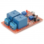 2-Channel Temperature Sensor + Relay Module for Arduino (Works with Official Arduino Boards)