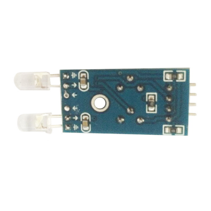 Light Detection 4-Pin 2-Channel Photo Diode Sensor Module - Blue xh m131 12v photoresistor module photoelectric sensor light sensor light control switch light detection