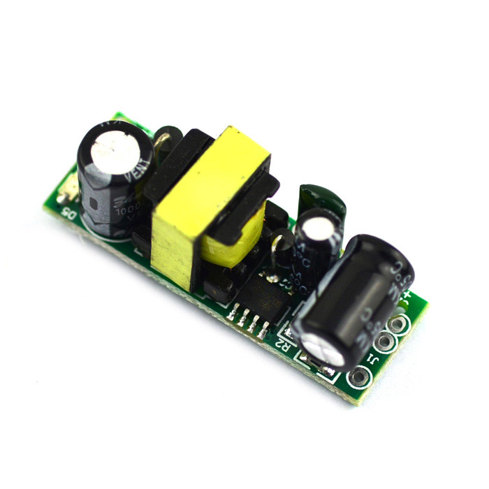 Switching Power Supply Board Module - Green (85~265V / 5V / 600mA) jtron ultra small switching power supply board module green ac 85 265v
