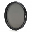 Camera Vari-ND Lens Filter - Black (55mm)