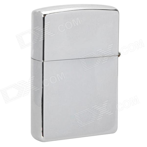 Mirror Finish Fluid Fuel Lighter - Silver