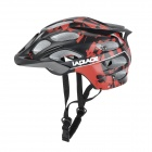 Laplace Q3 Outdoor Bike Bicycle Riding Helmet - Black + Red