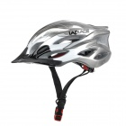 Laplace Q5 Outdoor Bike Bicycle Riding Helmet - Silvery Grey + Black + White