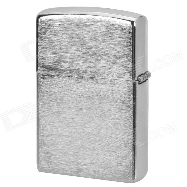 Simple Fluid Fuel Lighter - Silver