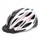 Laplace Q2 Outdoor Bike Bicycle Riding Helmet - White + Red