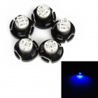 T4.2 0.15W 20lm 3-3014 SMD LED Blue Light Car Instrument Lamp Bulb (5 PCS)