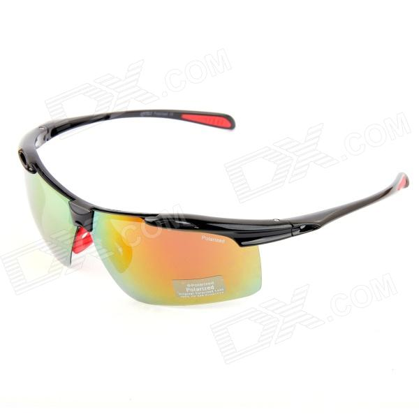 KASHILUO Cycling PC Frame UV400 Protection Polarized Lens Sunglasses