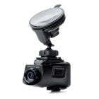"HT200A 1.5"" LCD 5.0MP Wide Angle Car DVR Camcorder w/ SD / Mini USB / Mini HDMI - Black"