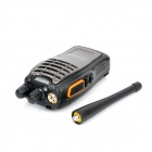 BAOFENG BF-A5 5W 400~470MHz Walkie Talkie w/ Flashlight / FM Radio - Black