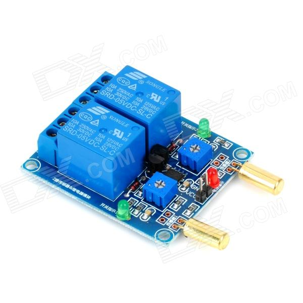 Channel angle sensor relay module for arduino works