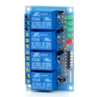 4 Channel 12V High Level Trigger Relay Module for Arduino (Works with Official Arduino Boards)