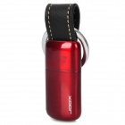 Stylish Butane Gas Lighter Keychain - Red