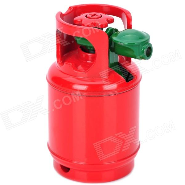 Creative Gas Tank Style Windproof Butane Gas Lighter - Red + Green