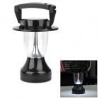 Waterproof Solar Powered / Hand Crank 0.72W 50lm 12-LED Cold White Light Lantern