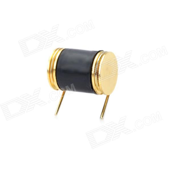High Sensitivity Vibration Detection Sensor - Golden + Black jj electronic ecc803 s gold plated pins