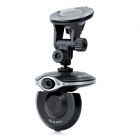 "2.0"" LCD 300KP Wide Angle Car DVR Camcorder w/ SD / Mini HDMI / 4-LED IR Night Vision - Black"