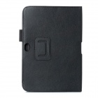 Protective PU Leather Case for Samsung Galaxy Note 10.1 / N8000 / N8010 - Black