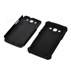 Protective Detachable Silicone Back Case w/ PC Cover for Samsung Galaxy S3 i9300 - Black