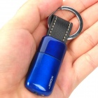 Stylish Butane Gas Lighter Keychain - Blue