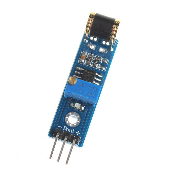 Analog Output Vibration Detection Sensor Module for Arduino Robot Kit