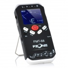 "2.0"" LCD Digital Tuner Metronome for Guitar / Bass + More - Black + White (1 x 6F22/9V)"