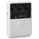 Multi-Function Acoustic Guitar Sound Pickup System - White + Black (4 x AAA)